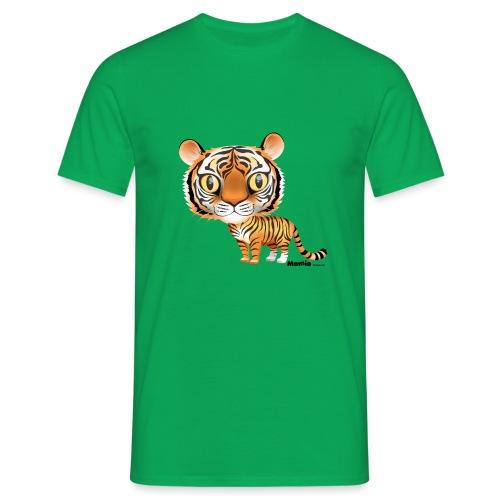 Tijger - Mannen T-shirt