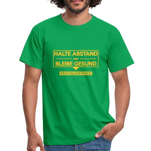 Halte ABSTAND und bleibe GESUND. www.sdShirt.de - Männer T-Shirt