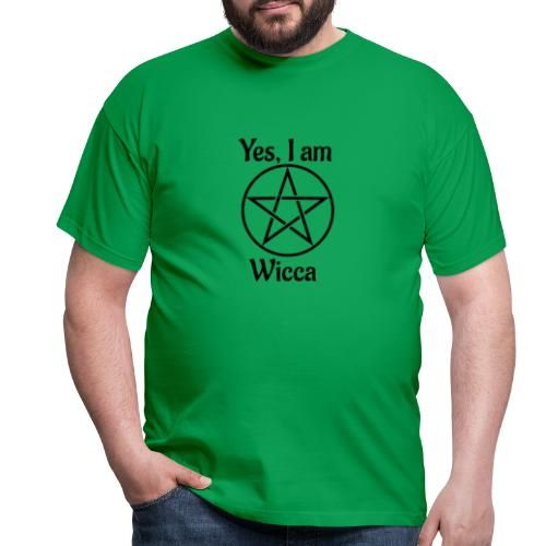 Yes I am Wicca - Camiseta hombre