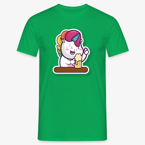 Funny Unicorn - Men's T-Shirt