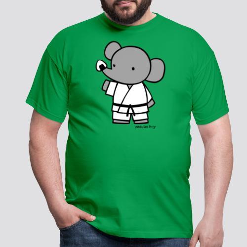 Elephant - Mannen T-shirt