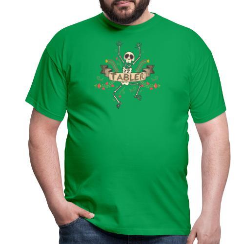 Skull Finish Tabler - Männer T-Shirt