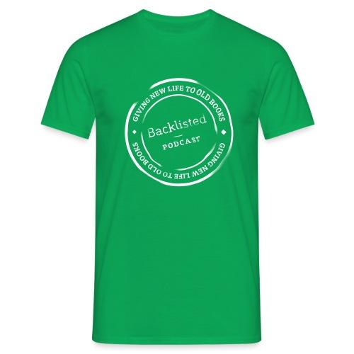 Backlisted T-shirt Mens Green - Men's T-Shirt