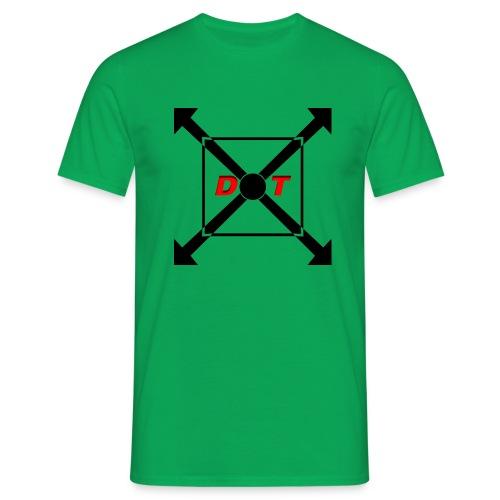 dot logo back - Men's T-Shirt