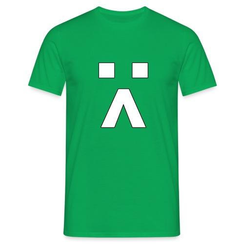 :< Smiley - Männer T-Shirt