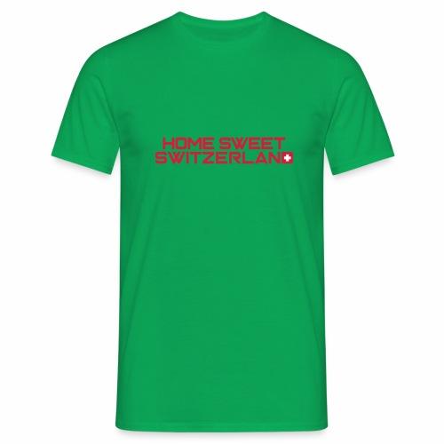 home sweet switzerland - Männer T-Shirt