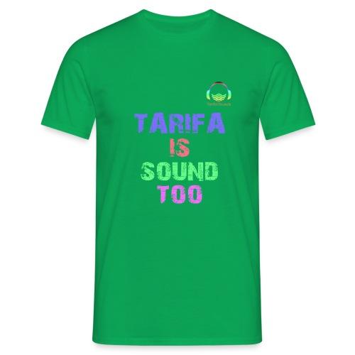 Tarifa tambiés es sonido - Camiseta hombre