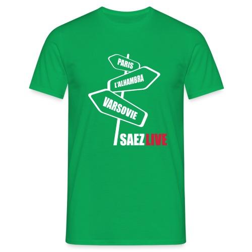 Varsovie (version light, par parek) - T-shirt Homme
