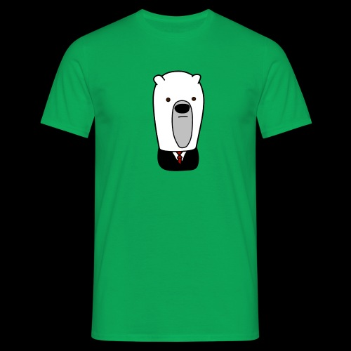 officel_polarbear_shop_logo - Herre-T-shirt
