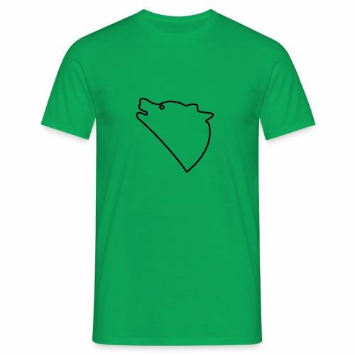 Wolf baul logo - Mannen T-shirt