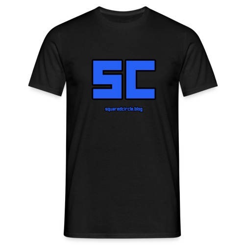 SquaredCircle Logo - Men's T-Shirt