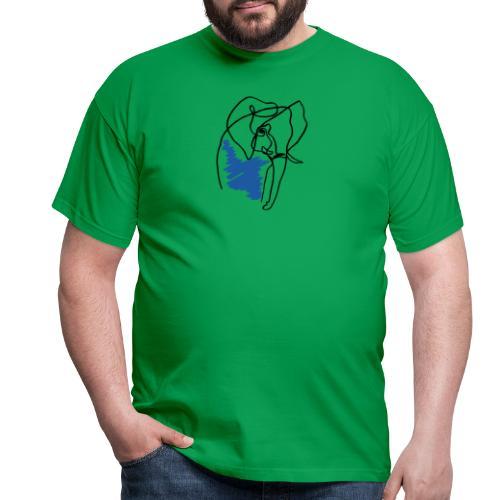 Elephant - Männer T-Shirt