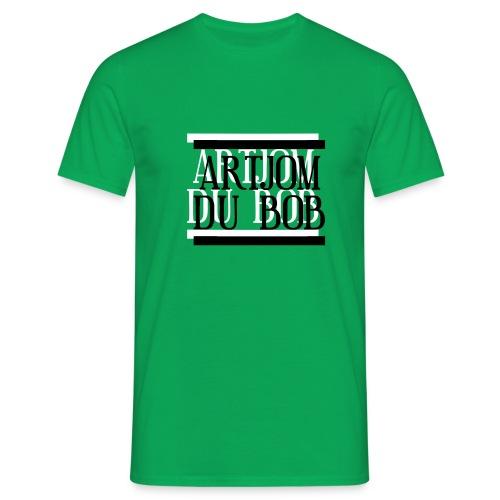 Artjom du BOB Logo - Männer T-Shirt