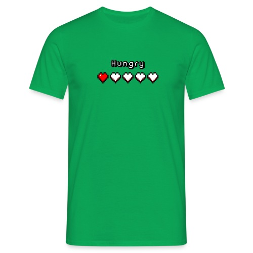 Hungry Heart Meter - Men's T-Shirt