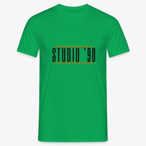 Logo zwart Studio 90 - Mannen T-shirt