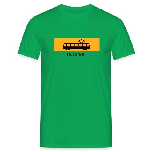 RATIKKA PYSÄKKI HELSINKI T-paidat ja lahjatuotteet - Miesten t-paita