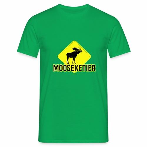 Moosketier - Mannen T-shirt
