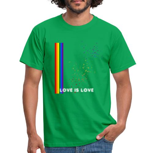 Love Is Love - T-shirt herr
