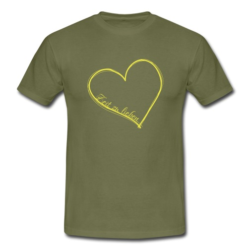 Zeit zu lieben - Männer T-Shirt