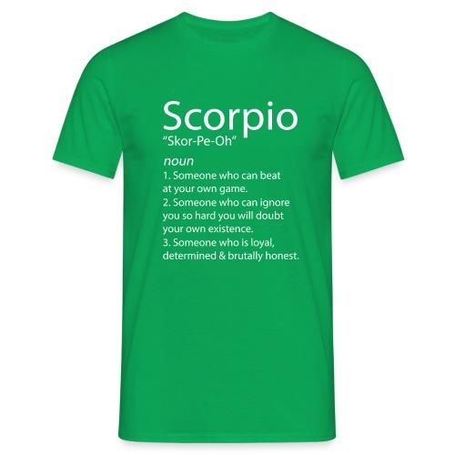 SCORPIO FACTS & SCORPIO TRAITS - Men's T-Shirt
