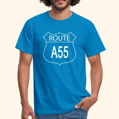 Route A55 - Men's T-Shirt