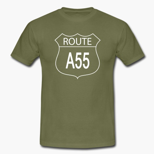Route A55 - Men's T-Shirt