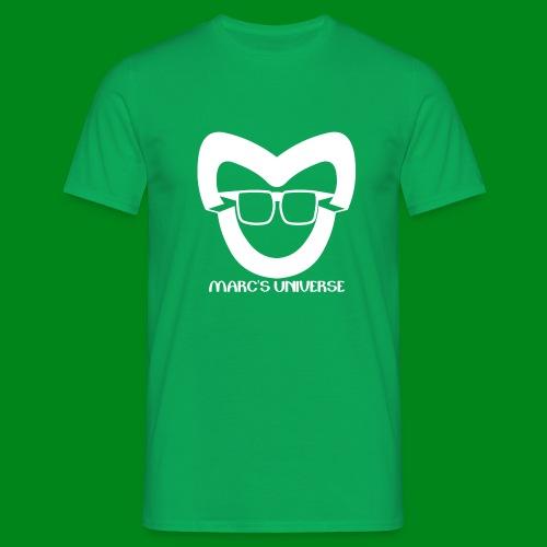Marc's Universe White - Mannen T-shirt