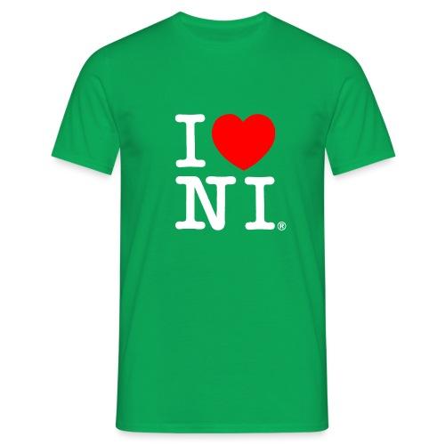 I love NI - Men's T-Shirt