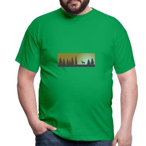 Abendmotiv - Männer T-Shirt