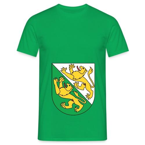 Wappen Thurgau matt svg 1 png - Männer T-Shirt