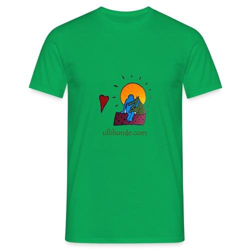 Ullihunde - Logo RETRO - Männer T-Shirt