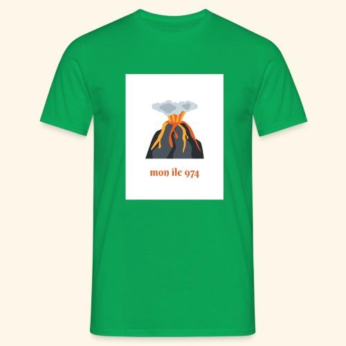 Volcan mon île 974 - T-shirt Homme