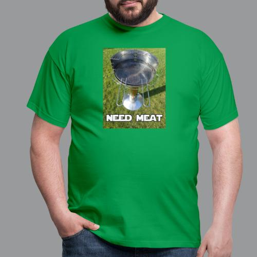 need meat - Mannen T-shirt
