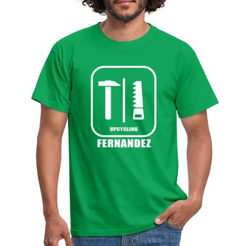 Logo Weiss Schwarz - Männer T-Shirt