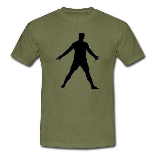 Cristiano Pose - Männer T-Shirt