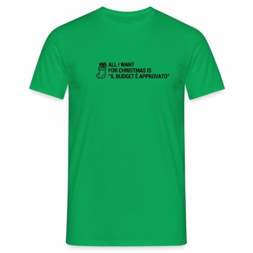 BUDGET - Maglietta da uomo