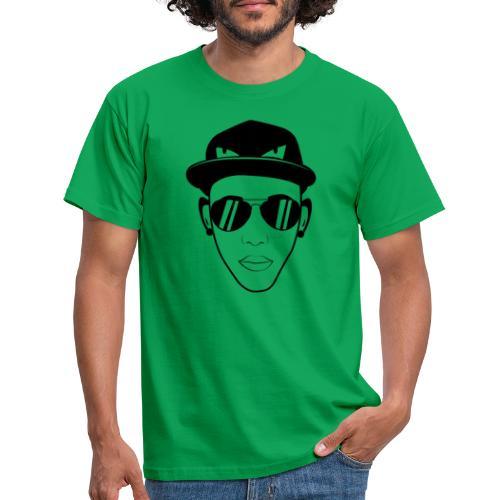 adhex cara - Camiseta hombre