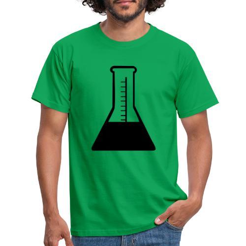chemie schwarz - Männer T-Shirt
