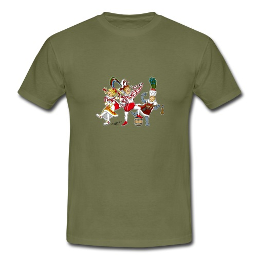 Köln Dreigestirn - Männer T-Shirt
