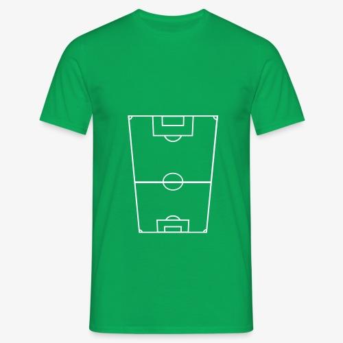 Fotbollsplan - T-shirt herr