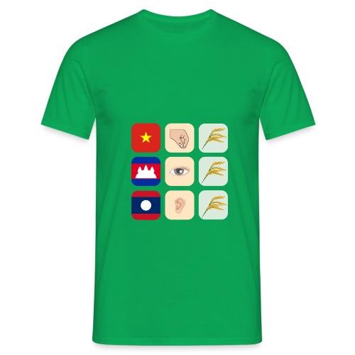 Proverbe sur le Vietnam, le Cambodge et le Laos - T-shirt Homme