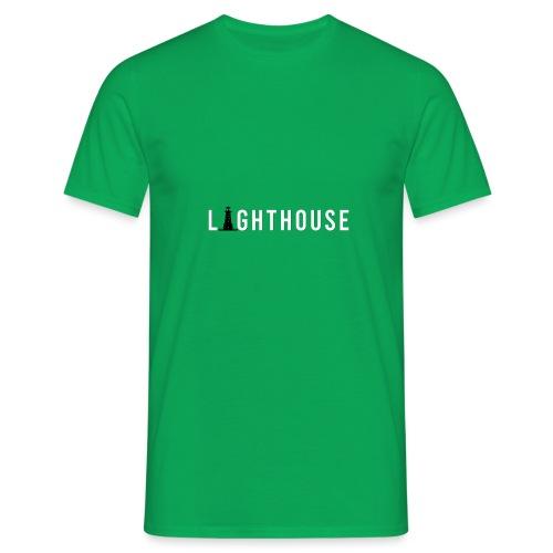 Lighthouse Logo - Männer T-Shirt