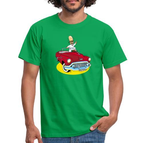 Herr Bohnemann im Buick - Männer T-Shirt