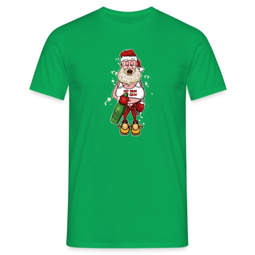 Bad Santa / Weihnachtsmann - Männer T-Shirt