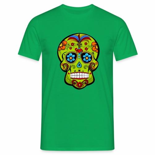Calavera Verde - Camiseta hombre