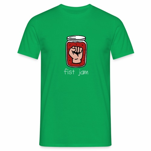 Fist Jam - Climbing Pun - Men's T-Shirt