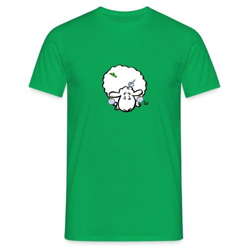Christmas Tree Sheep - Mannen T-shirt
