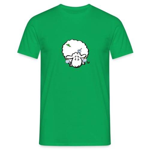 Pecore dell'albero di Natale - Maglietta da uomo