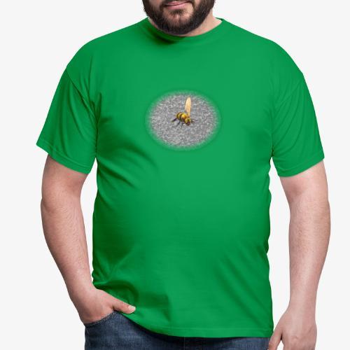 biene mit steienen - Männer T-Shirt