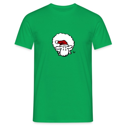 Santa Sheep (red) - T-shirt Homme